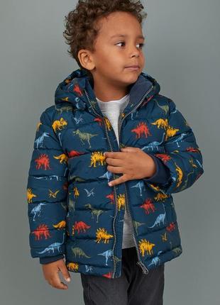 H&m ! оригинальная, яркая, теплая, стильная куртка