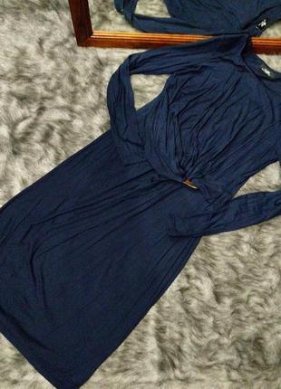 Платье с драпировкой на талии wallis
