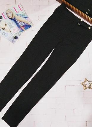 Брюки штаны дудочки сигареты из костюмной ткани f&f