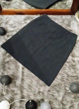Юбка карандаш базового серого оттенка