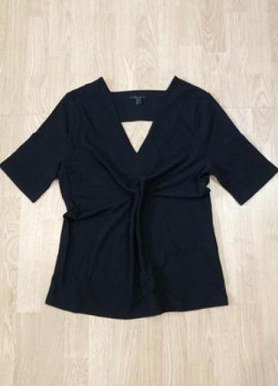 Cos кофточка блуза блузка футболка джемпер размер м черный цвет