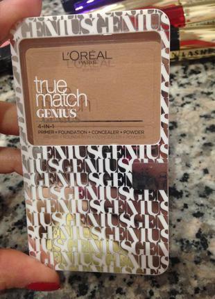 Тональное средство 4 в 1 для лица l'oréal
