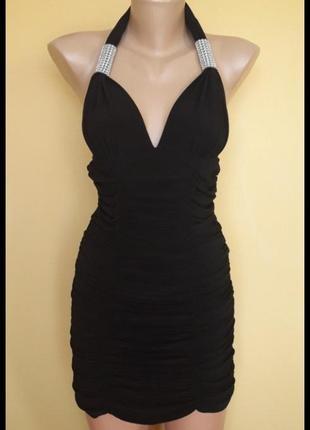Клубное стрейч платье