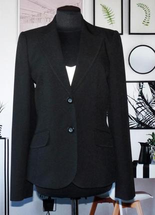Жакет черный классический с декоративной отделкой dorothy perkins
