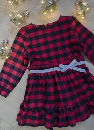 Платье с длинным рукавом в клеточку, модное платье