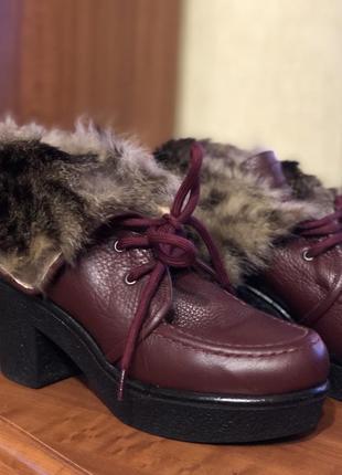 Ботинки зимние fellini