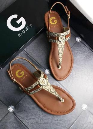 Guess оригинал сандалии с логотипом