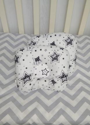 Подушка ортопедическая для новорождённых деток т. м. миля.