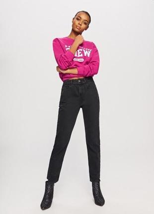 Крутые джинсы,высокая посадка,regular-mom-бойфренд