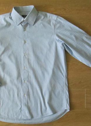 Фирменная рубашка hugo boss с длинным рукавом
