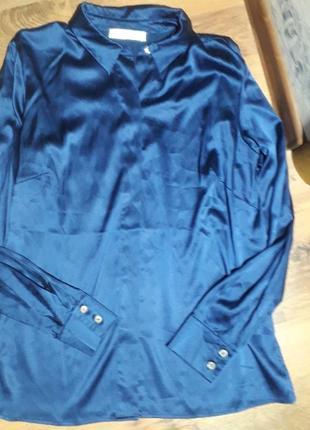 Блуза шёлк marina rinaldi