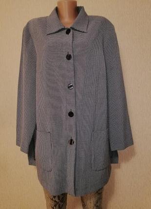 🔥🔥🔥женский легкий пиджак, жакет, кардиган батального размера personal choice🔥🔥🔥