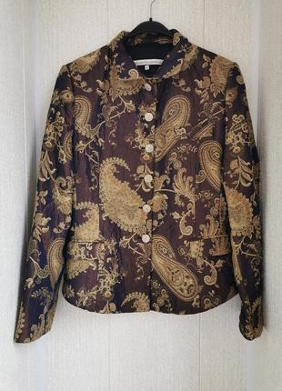 Невероятный дизайнерский жакет, пиджак, хамелеон,в восточном стиле erny van reijmersdal