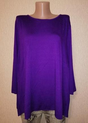 🔥🔥🔥красивая женская кофта, джемпер, блузка батального размера marks & spenser🔥🔥🔥
