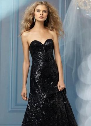 Кружевное нарядное вечернее выпускное макси платье с клатчем турция new look