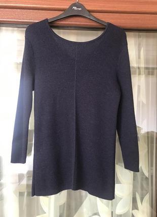 Пуловер шерстяной стильный модный дорогой бренд massimo dutti размер м