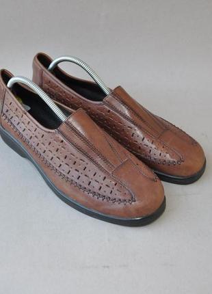 Летние туфли medicus 40р 26,5см