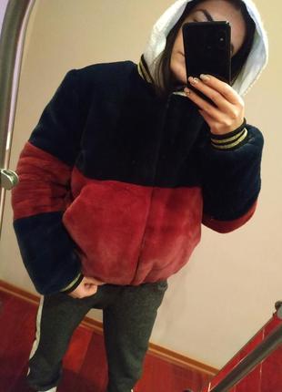 Шуба-куртка тз эко меха