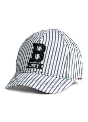 H&m кепка ог 50 рост 92 2 года бейсболка полосатая