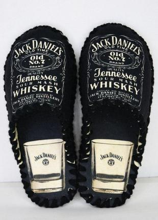 Тапочки мужские jack daniel`s