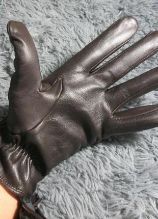 Кожанные немецкие перчатки esmara