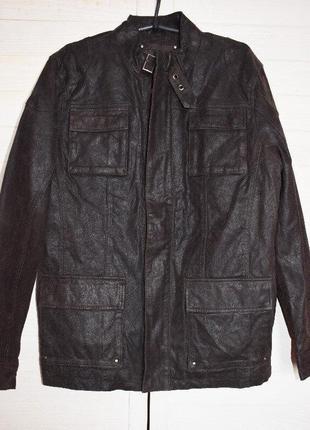 Кожаная мужская куртка германия