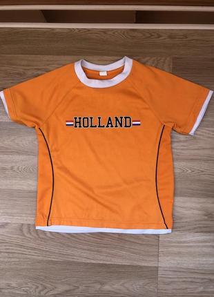 Футболка для игры в футбол, форма holland