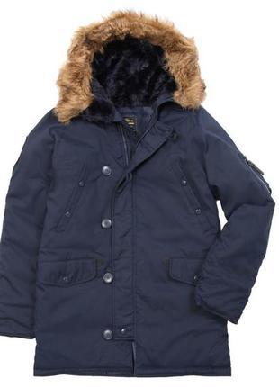 Куртка парка alpha industries аляска altitude parka