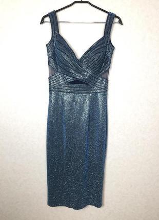 Роскошное вечернее платье от olisha