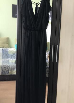 Вечернее платье комбинезон от asos с бисером