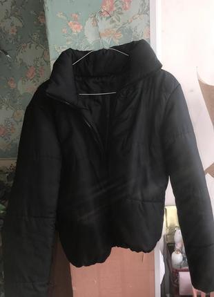 Куртка короткая дутик зефирка