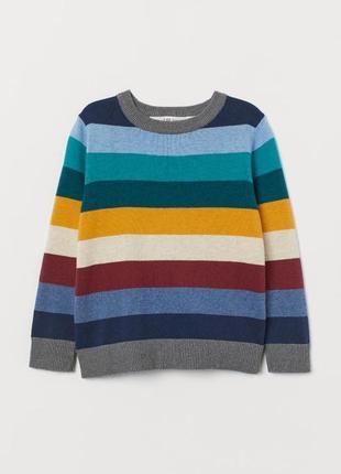 Яркая кофта, свитер от 4 до 8 лет