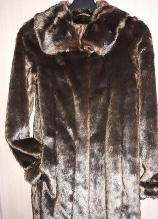 Шуба эко-мех, под норковую шубку, испания, мадрид