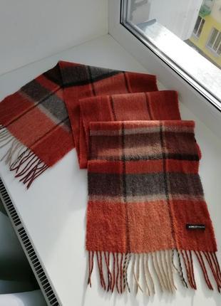 Люкс бренд!!! красивий фірмовий кашеміровий шарф jjbenson!!! оригінал!!!