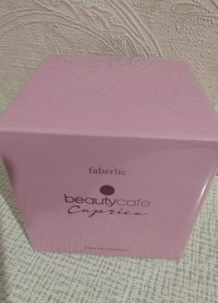 Faberlic парфюмерная вода для женщин beauty cafe caprice 60 мл