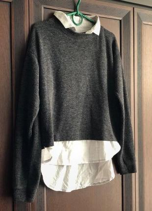 Свитер кофта рубашка блуза реглан джемпер
