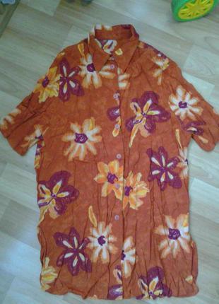 Летняя рубашечка-блуза