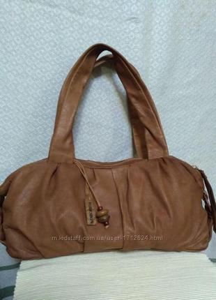 Hidesign классная модная повседневная сумка 100 кожа
