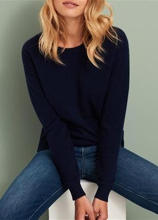 Кашемировый 100% свитер оверсайз