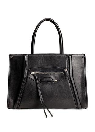 Классическая удобная сумка h&m