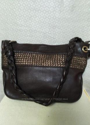 Hotter модная стильная сумка 100 кожа