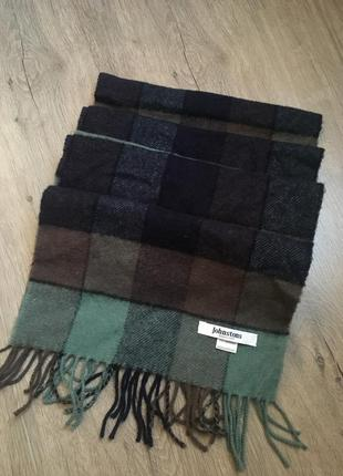Johnstons шерстяной шарф