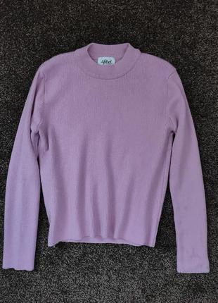Свитер розовый шерсть мериноса/светр рожевий