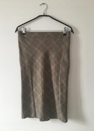 Актуальная юбка-карандаш для офиса benetton !!!!