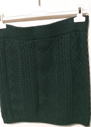 Трикотажная юбка -резинка