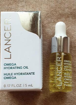 Разглаживающее масло для лица lancer с антиоксидантами, лёгкая текстура
