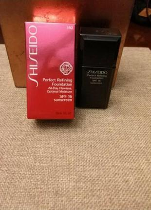 Выравнивающий тональный крем shiseido