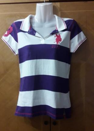 U.s.polo  assn since 1890 футболка поло  хлопок