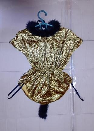 Туничка карнавал кот с хвостом