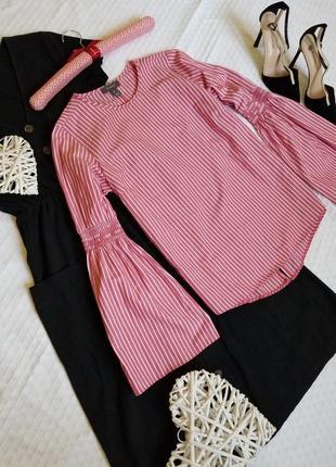 🌼 стильная блуза в полоску от primark